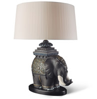 LLADRO SIAMESE ELEPHANT - LAMP (UE-US-UK-JAPAN) (01023088 / 23088 / 23089 / 23090 / 23091)