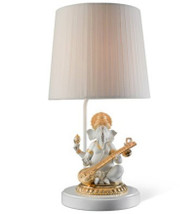 LLADRO VEENA GANESHA (RE-DECO) - LAMP (UE-US-UK-JAPAN) (01023166 / 23166 / 23167 / 23168 / 23169)