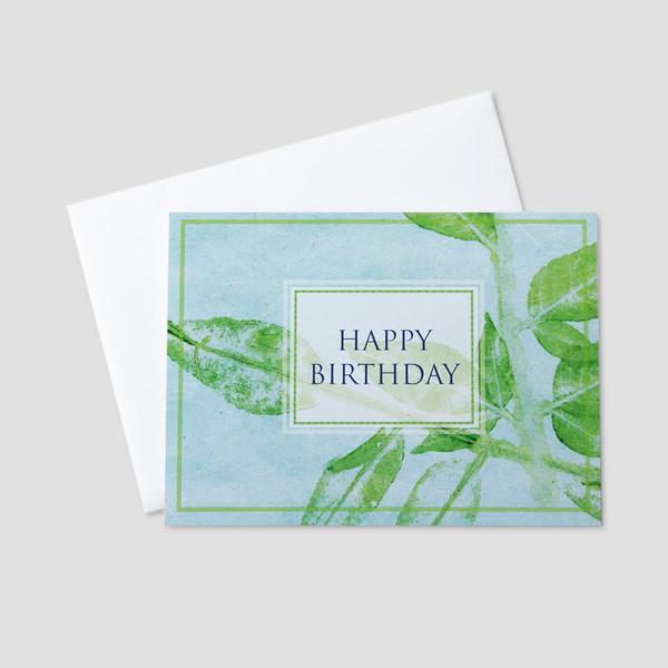 Business Birthday Greeting Cards – Professional Birthday Card