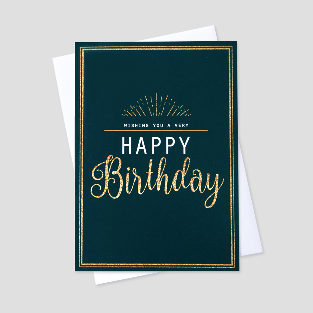 Business Birthday Greeting Card | CEO Cards
