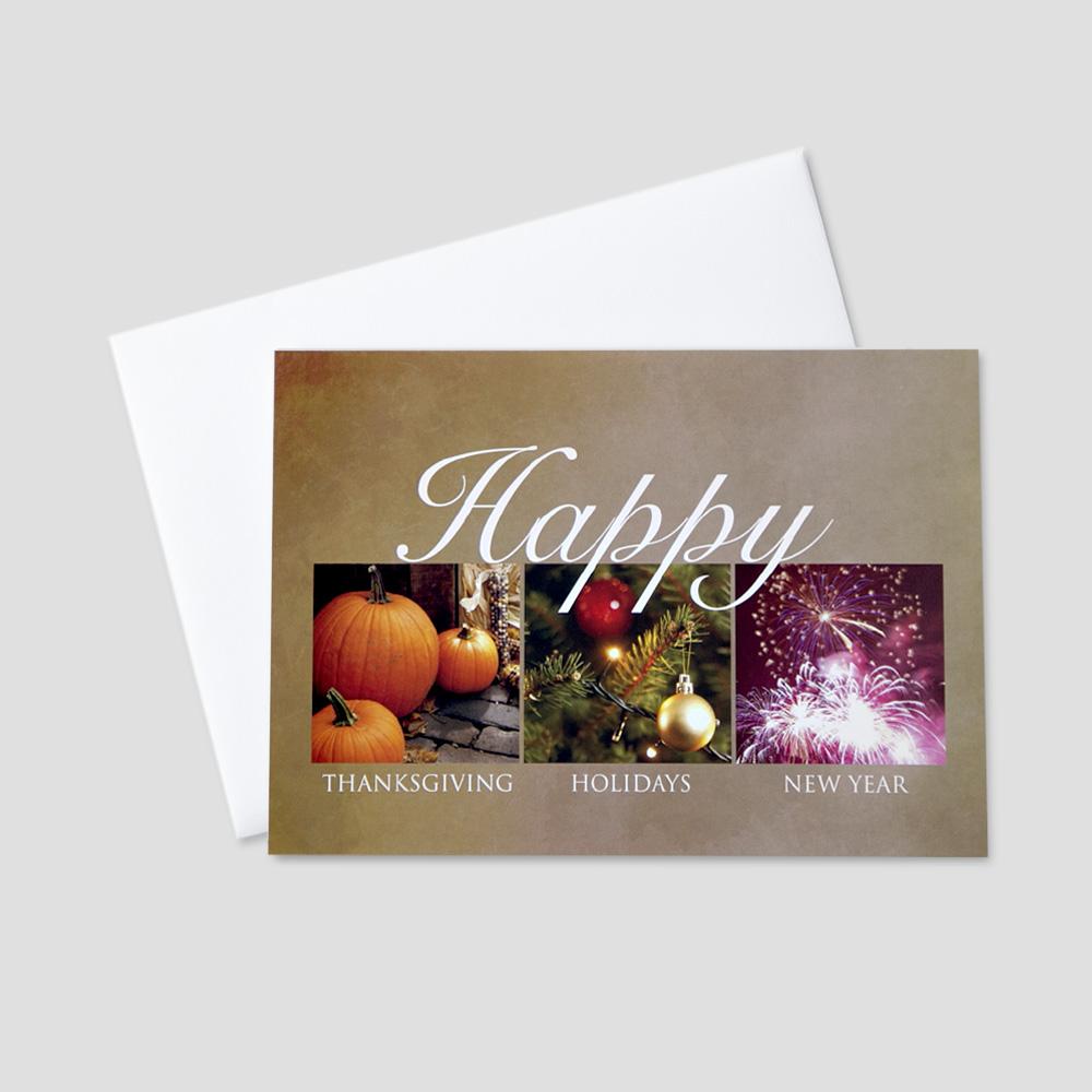 Seasonal Business Greeting Card | CEO Cards