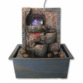 Crystal Ball Table Water Fountain w/ Light