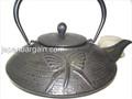 Black Dragonfly Cast Iron Teapot 30oz