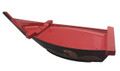 Plastic Lacquer Sushi Boat Serving Tray 18.5-inch