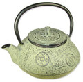 Ancient Coin Tetsubin Cast Iron Teapot 21oz