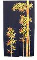 Color Bamboo Noren Doorway Curtain 33x59in