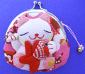 Maneki Neko Lucky Cat Coin Purse #22408-2