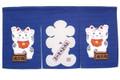 Maneki Neko Noren Curtain Lucky Cat 33x17in