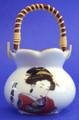 Porcelain Geisha Toothpick Holder B