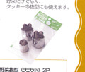Japanese Set of 3 Stainless Steel Vegetable Cutter Molds