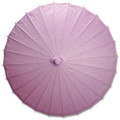 Bambina Pink Paper Wedding Party Parasol 32in