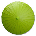 Green Paper Wedding Party Parasol 32in