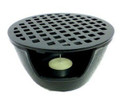 Cast Iron Teapot Warmer 5-3/4in Black