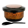 Rice Serving Bowl Ohitsu Gold Large