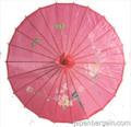 Hot Pink Oriental Parasol 32in