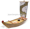Plastic Lacquer Sushi Boat Serving Plate 25in