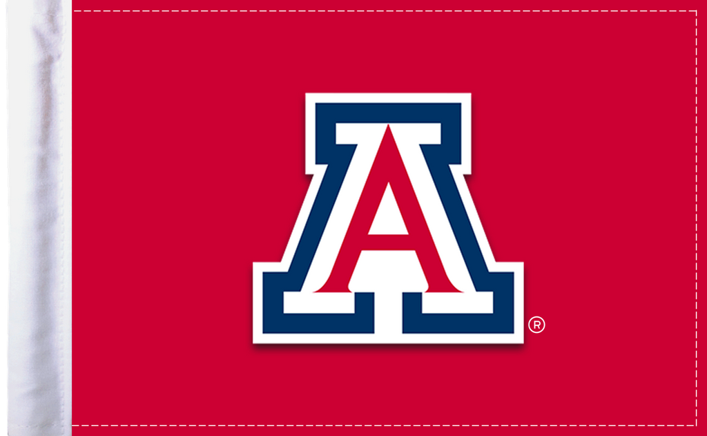 "Arizona Wildcats 6""x9"" Motorcycle Flag"
