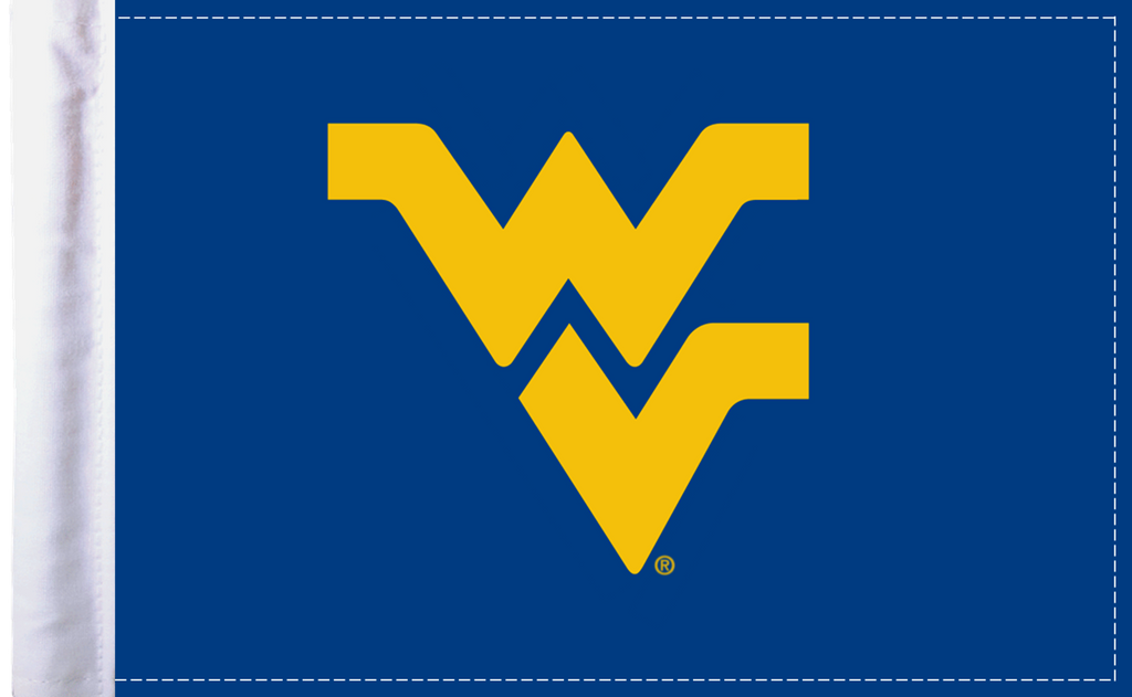 "West Virginia Mountaineers 6""x9"" Motorcycle Flag"