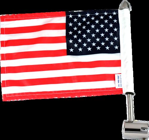 Kuryakyn Goldwing Flat Luggage Rack Flag Mount