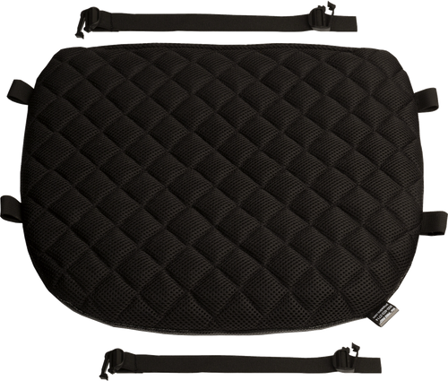 Touring Quilted Diamond Mesh Gel Seat Pad