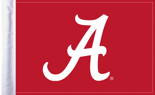 "Alabama Crimson Tide 6""x9"" Motorcycle Flag"