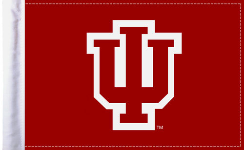 "Indiana Hoosiers 6""x9"" Motorcycle Flag"