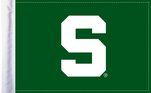 "Michigan State Spartans 6""x9"" Motorcycle Flag"