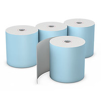 "Choice™  Blue Thermal Rolls, 3 1/8"" x 230', 50"