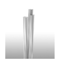 """Jumbo Straw, 7.75"""" Clear, Paper-Wrapped"""