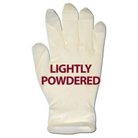 Glove, Latex Powdered, Extra Large