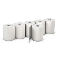 "Choice™  2 1/4"" x 74' Thermal Rolls, 12"