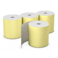 "Choice™  Yellow Thermal Rolls, 3 1/8"" x 230', 50"
