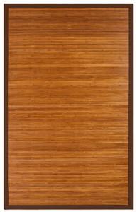 cobblestone mahogany bamboo area rug - bonnee bamboo Bamboo Area Rug