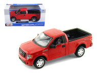 2010 Ford F 150 STX Pick Up Truck Red 1/27 Scale Diecast Car Model By Maisto 31270