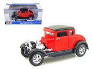 1929 Ford Model A Red 1/24 Scale Diecast Car Model By Maisto 31201
