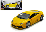 Lamborghini Huracan LP610-4 Yellow 1/18 Scale Diecast Car Model By Bburago 11038