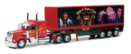 Kenworth W900 Elvis Presley The Blue Suede Semi Truck & Trailer 1/32 Scale By Newray 10463