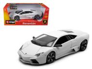 Lamborghini Reventon White 1/18 Scale Diecast Car Model By Bburago 11029