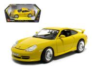 Porsche GT3 Strasse Yellow 1/18 Scale Diecast Car Model By Bburago 12040