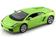 Lamborghini Gallardo Green 1/24 Scale Diecast Car Model By Bburago 22051