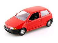 Fiat Punto Red 1/24 Scale Diecast Car Model By Bburago 22088