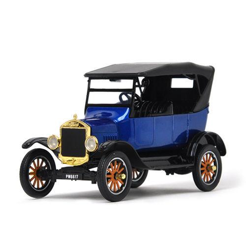 1925 ford model t touring blue platinum 1 24 scale diecast car model by motor max 79319. Black Bedroom Furniture Sets. Home Design Ideas