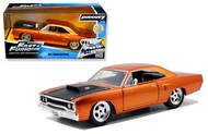1970 Plymouth Roadrunner Orange Copper Fast & Furious 1/24 Scale Diecast Car Model 97126