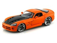2008 Dodge Viper SRT10 Orange 1/24 Scale Diecast Car Model By Jada 96805