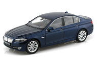 BMW 535i Blue 1/24 Scale Diecast Car Model By Welly 24026 NO RETAIL BOX