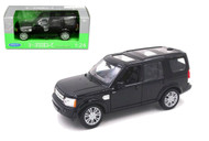 Range Rover Land Rover Discovery 4 Black 1/24 Scale Diecast Model By Welly 24008