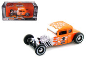 1929 Ford Model A Harley Davidson Orange 1/24 Diecast Car Model By Maisto 32175