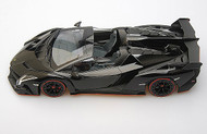 Kyosho 1/18 Scale Lamborghini Veneno Roadster Black Car Model 09502