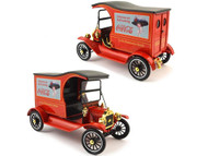 Motor City Classics 1/18 Coke Coca Cola 1917 Ford Model T Cargo Van Diecast Model 449804
