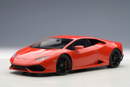Lamborghini Huracan LP610-4 Rosso Mars Metallic Red 1/18 Scale Diecast Car Model By AUTOart 74601